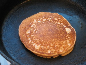 Remove your perfect pancake