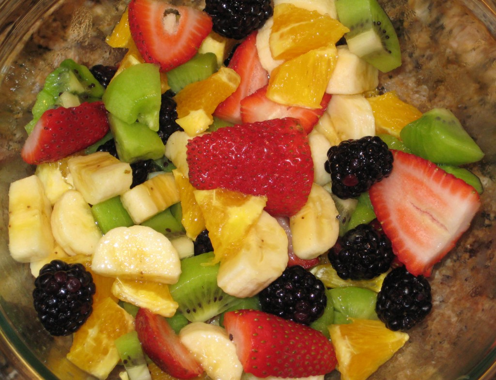 Add other fruit to make a colorful bowl.