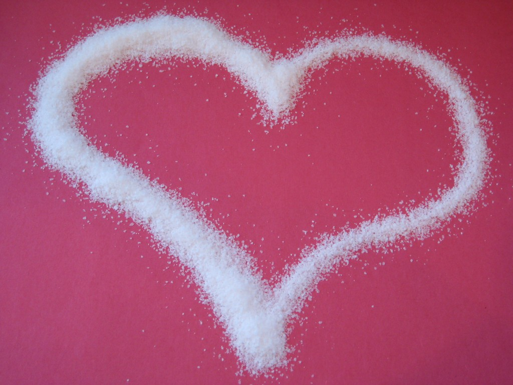 Remember you heart when you choose salty foods - It's Heart Health Month.