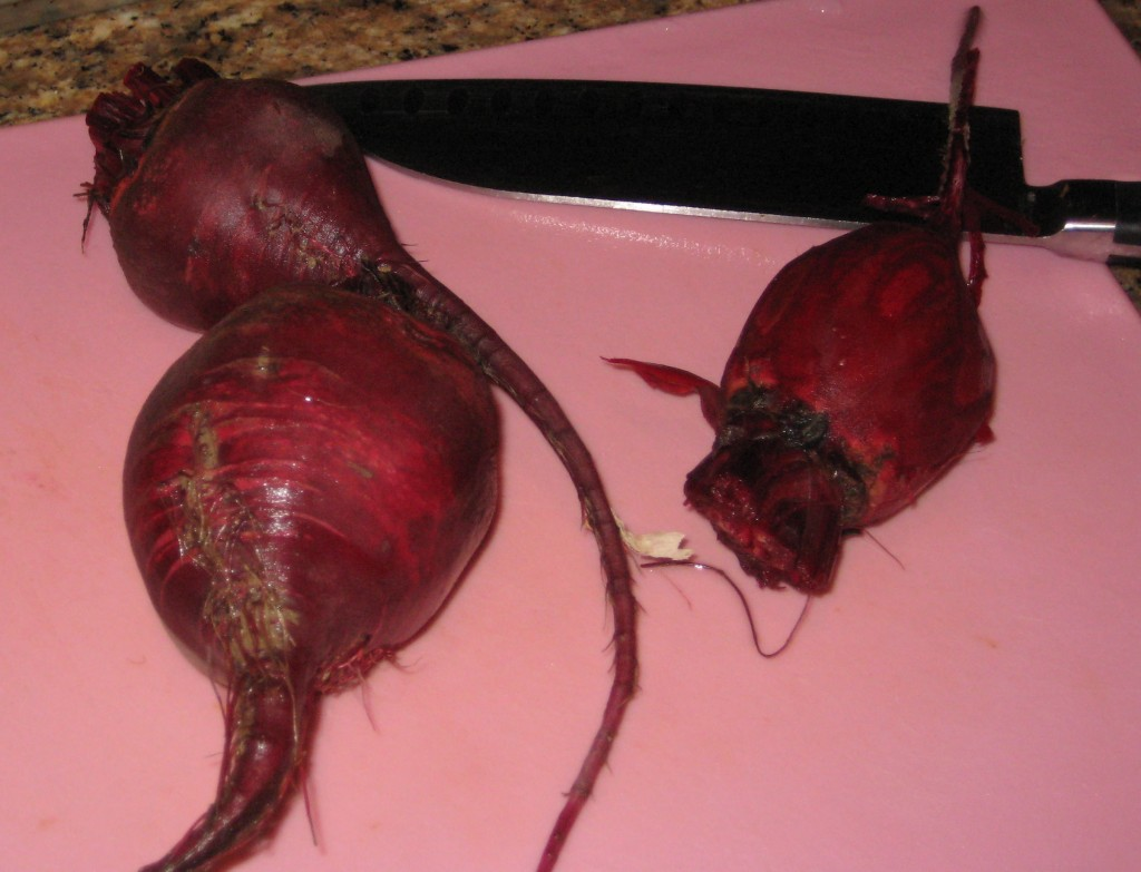 I knew you didn't really need a picture of something as red as a beet, but 'what the hey!'.