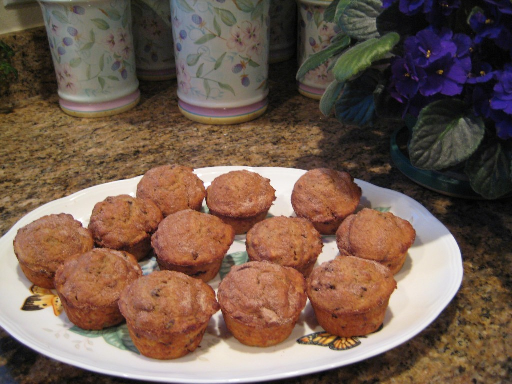 Cherry Pecan Muffins - a snack that you can feel good about.