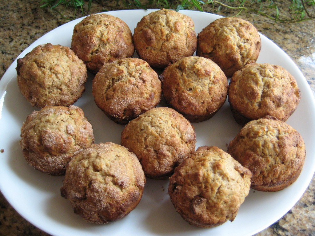 Banana-Pecan Muffins - Perfect for any age.