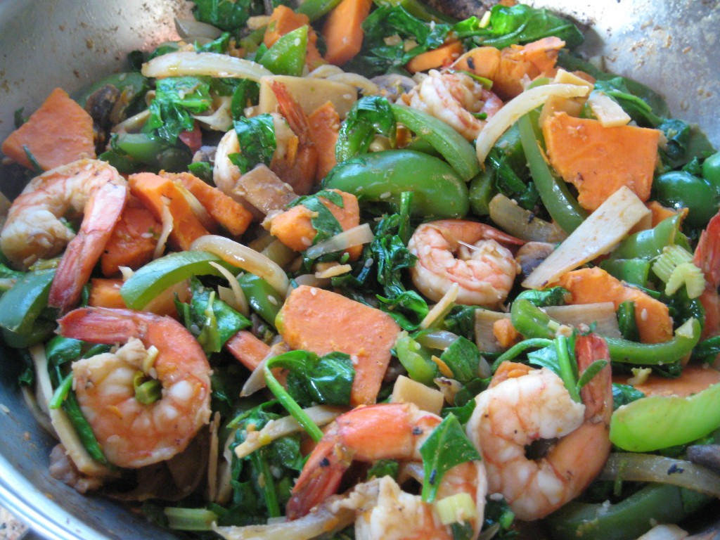 Serve your flavorful stir fry with brown rice or wheat berries.