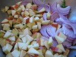 Onions and apples for even more flavor.