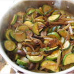 Caramelized Green and White Squash