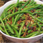Green Beans with Lemony Leeks