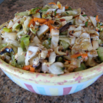 Grilled Slaw with Toasted Almonds
