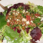 Herbed Feta Wheat Berry Salad