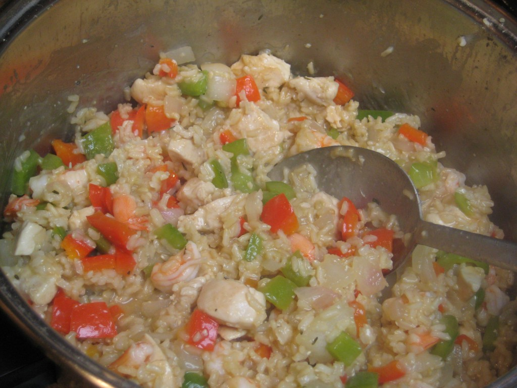 Chicken and Shrimp Jambalaya - Recipes