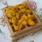 Hot Apricot Waffle Topping